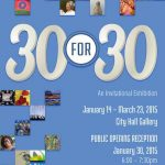 30 for 30 Reception Invite